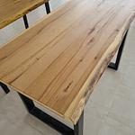 masa lemn masiv square natur davide.ro (1)