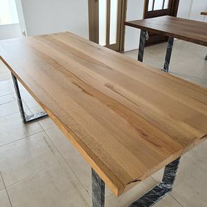 Masa lemn masiv square natur (3)