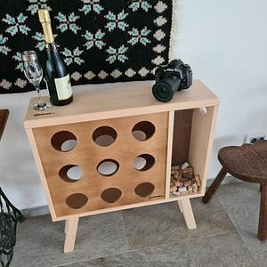 suport sticle vin davide.ro