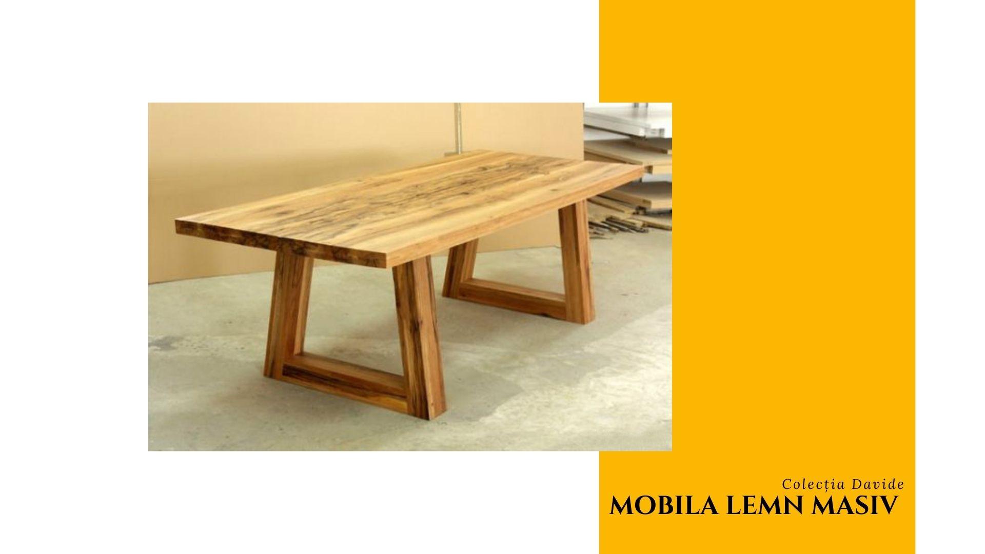 mobilier lemn masiv neamt david